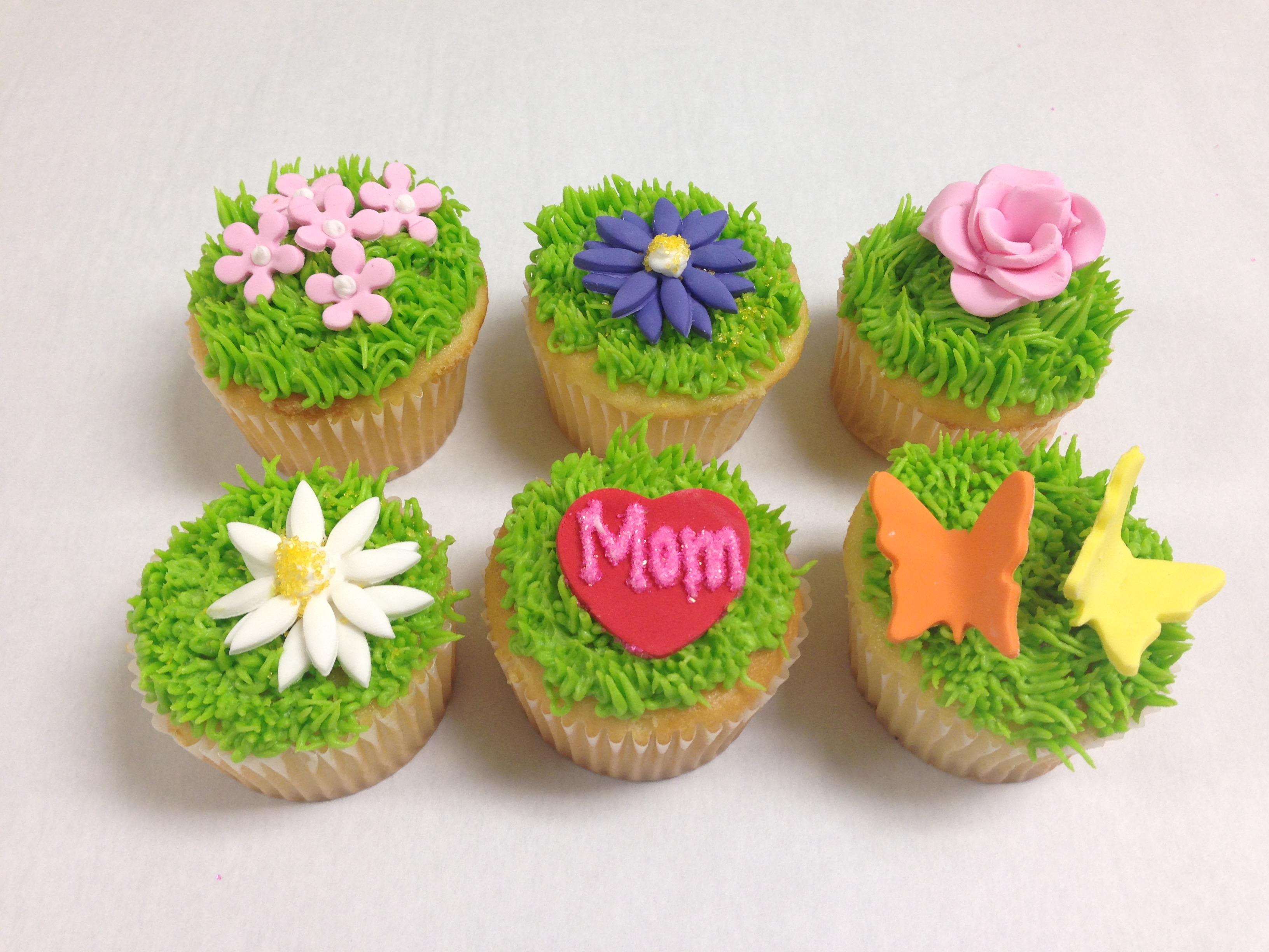 Mom Me Workshop Mothers Day Garden Cupcakes Sugarplum Studio