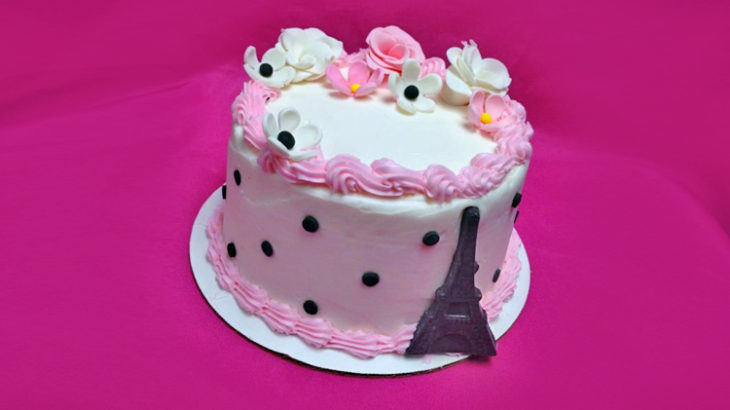 Paris Themed Cake Sugarplum Studio