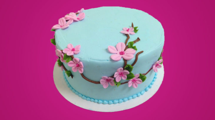 All Ages Cherry Blossom Cake